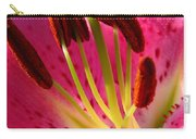 Dwarf Oriental Lily Named Farolito Carry-all Pouch
