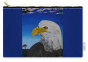 Eagle At Dusk Carry-all Pouch