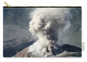 Eruption Of Ash Cloud From Santiaguito Carry-all Pouch
