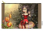 Fairy Playing The Flute Carry-all Pouch