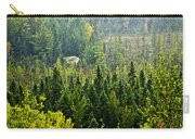 Fall Forest Rain Storm Carry-all Pouch