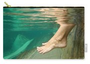 Feet Under The Water Carry-all Pouch