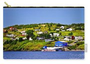 Fishing Village In Newfoundland Carry-all Pouch by Elena Elisseeva
