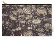 Foraminiferous Limestone Lm Carry-all Pouch by M. I. Walker