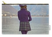 Girl With Umbrella Carry-all Pouch by Joana Kruse