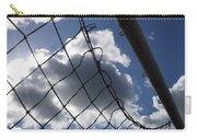 Goal Against Cloudy Sky. Carry-all Pouch