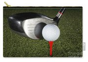 Golf Ball And Club Carry-all Pouch