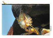 Harris Hawk Feeding Carry-all Pouch