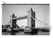 Helicopter At Tower Bridge Carry-all Pouch