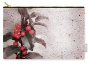Holly Branch  Carry-all Pouch