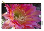Hot Pink Cactus Flower Carry-all Pouch