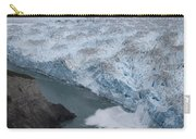 Hubbard Glacier Encroaching On Gilbert Point Carry-all Pouch