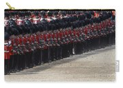 Irish Guards March Pass During The Last Carry-all Pouch by Andrew Chittock
