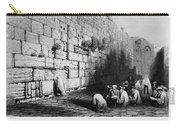 Jerusalem: Wailing Wall Carry-all Pouch
