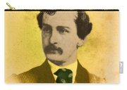 John Wilkes Booth, American Assassin Carry-all Pouch