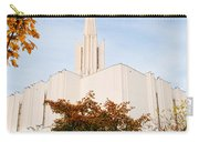 Jordan River Temple Carry-all Pouch by La Rae  Roberts