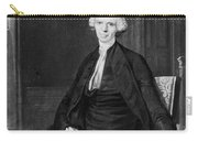Laurence Sterne (1713-1768) Carry-all Pouch
