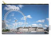 London Eye And County Hall Carry-all Pouch