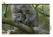 Long-tailed Macaque Macaca Fascicularis Carry-all Pouch by Cyril Ruoso