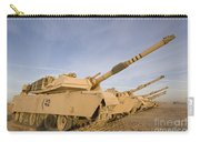 M1 Abrams Tanks At Camp Warhorse Carry-all Pouch