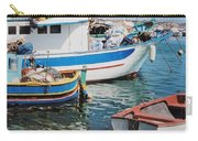 Maltese Harbor Carry-all Pouch