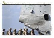 Marines Board A Ch-46e Sea Knight Carry-all Pouch