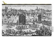 Massacre Of Huguenots Carry-all Pouch
