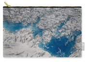 Meltwater Lakes On Hubbard Glacier Carry-all Pouch