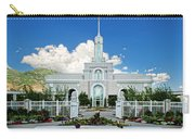 Mt Timpanogas Temple Carry-all Pouch