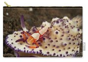 Nudibranch With Orange Emperor Shrimp Carry-all Pouch