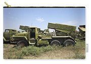 Old Russian Bm-21 Launch Vehicle Carry-all Pouch
