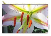 Oriental Lily Hybrid Named Mojave Carry-all Pouch