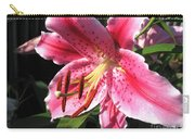 Oriental Lily Named Tiber Carry-all Pouch