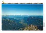 Panoramic View Zugspitze German Austrian Boarder Carry-all Pouch
