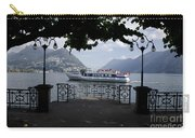 Passenger Ship On An Alpine Lake Carry-all Pouch