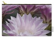 Pink Cactus Flowers Carry-all Pouch