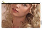 Portrait Of A Beautiful Young Woman Carry-all Pouch