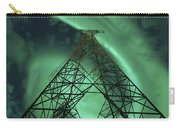 Powerlines And Aurora Borealis Carry-all Pouch