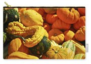 Pumpkins And Gourds Carry-all Pouch