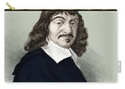 Rene Descartes, French Polymath Carry-all Pouch