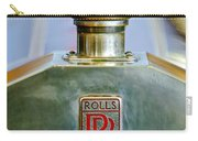 Rolls-royce Hood Ornament Carry-all Pouch