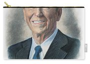 Ronald Reagan (1911-2004) Carry-all Pouch by Granger