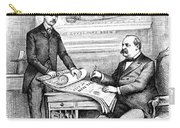 Roosevelt Cartoon, 1884 Carry-all Pouch by Granger