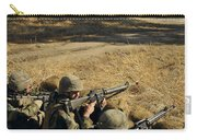 Seabees Defend Their Camp Carry-all Pouch