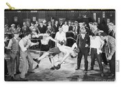Silent Film Still: Boxing Carry-all Pouch