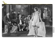 Silent Film Still: Fashion Carry-all Pouch