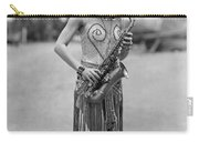Silent Film Still: Music Carry-all Pouch