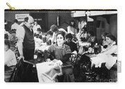 Silent Film Still: Sewing Carry-all Pouch by Granger