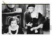 Silent Film Still: Women Carry-all Pouch
