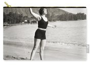Silent Still: Bathing Carry-all Pouch